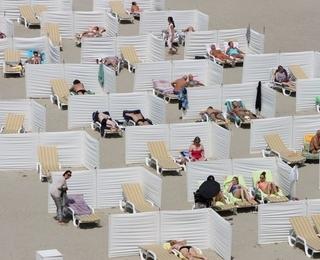 Zonnestrand strand