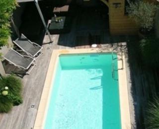 swimming pool B&B Grain de Sable