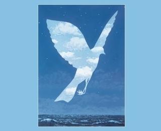 Magritte & de zee