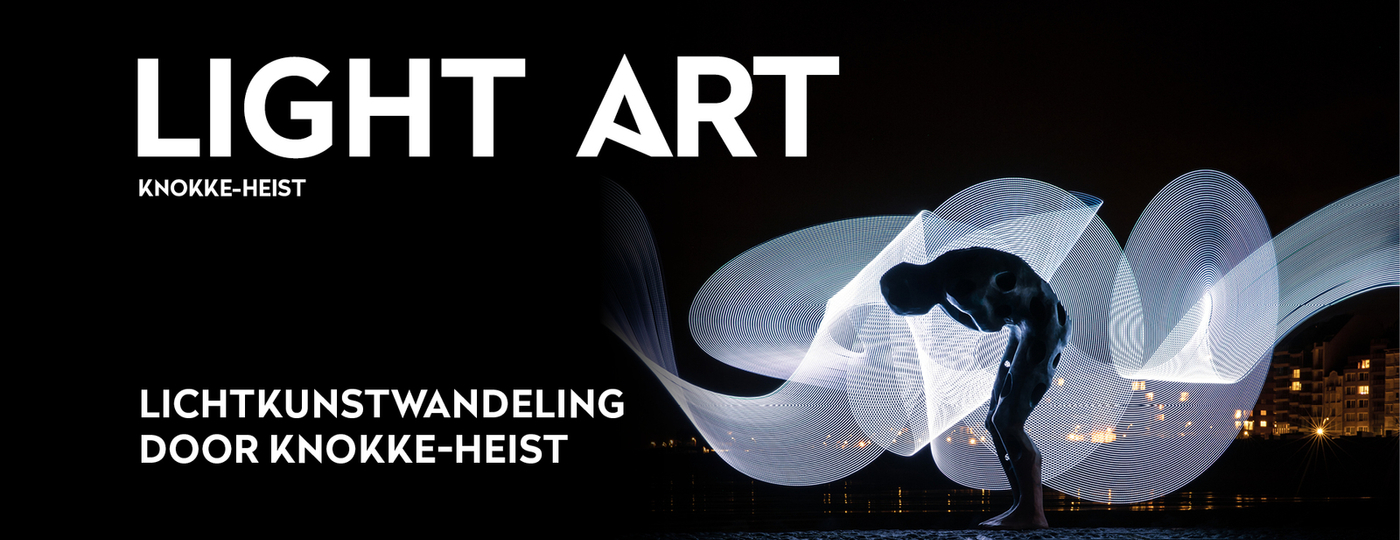 Light ART Knokke-Heist affiche
